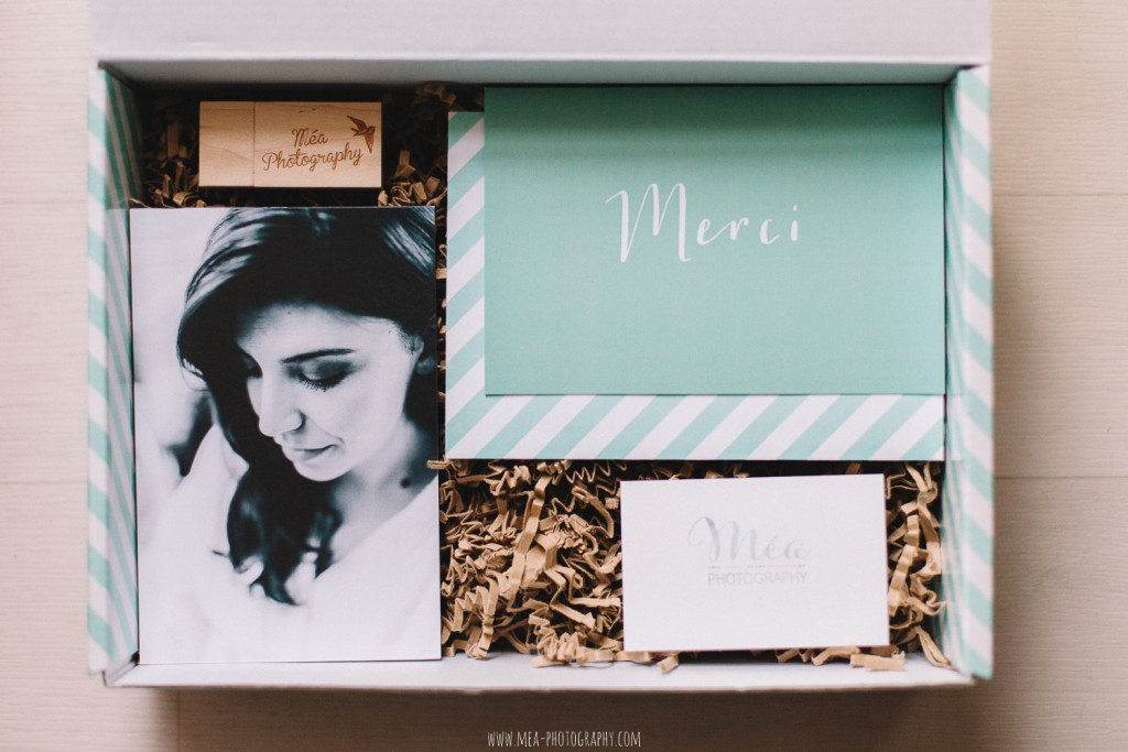 Packaging Méa Photography