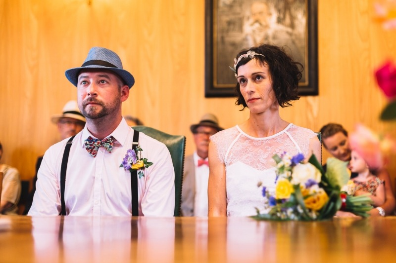 Mariage guinguette à la mairie de Campbon
